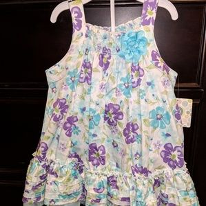 Floral Dress, Size 18m NWT